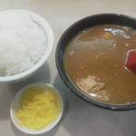 55350850 - カレー汁380円、ご飯(小)170円
