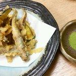 isamizushihokusai - ほうたれイワシ天             ほっぺたが垂れるほど旨いイワシの天ぷら