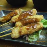 やきとり居酒屋しんちゃん - 串カツ 味噌ダレ