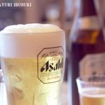 55353223 - 生ビールと瓶ビール