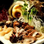 みなと寿司 - 活さざえ刺身(つぼ焼きできます。)