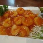 中国料理 香楽 - エビチリ 1,100円