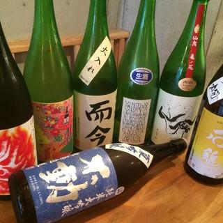 日本酒は常時30種以上!而今・飛露喜・獺祭・久平次・ロ万など