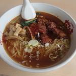だるま亭 - 料理写真:ダルマー麺850円
