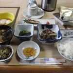 蔵王温泉吉田屋 - ある日の朝食(2010.9)
