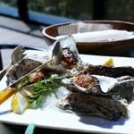 貝殻荘 - 焼き牡蠣