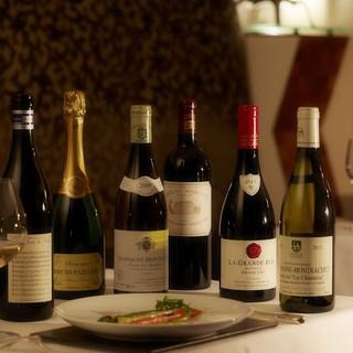 フランスワインを主にソムリエ厳選ワイン