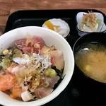 ふたみ - 海のまかない丼 600円