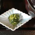 村民食堂 - 長野県といえば野沢菜('16/08/29)