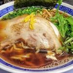 丸直 - 魚介 醤油 / 760円