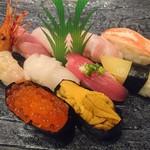志むら寿司 - 極上 (¥3.350)
