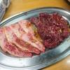 秋田屋 - 料理写真:前沢牛カルビ、国産上ハラミ