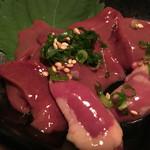 55368678 - 播州地鶏の肝刺し