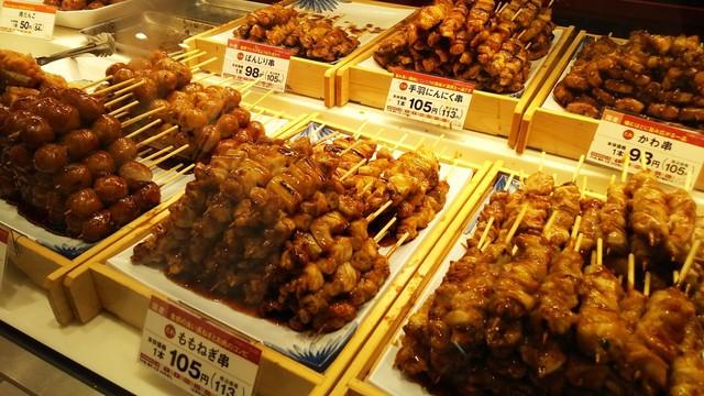 うなぎ・焼き鳥・惣菜 日本一 ルミネ立川店 - 立川/焼鳥 [食べログ]