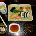 いさみ寿司 - 京風盛り合わせ