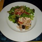 グラディナータ・ノルド - コールミートと亀岡地鶏のサラダ仕立て