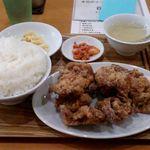 ごはん泥棒 - レギュラーメニュー 唐揚げ定食