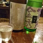 ちょこっと屋 - 2016/8 「宝剣 涼風吟譲 ¥550」 「賀茂金秀 辛口夏純 ¥500」