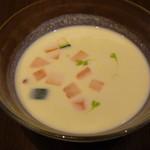 55371581 - 枝豆の冷製スープ