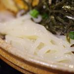 大地のうどん - 麺