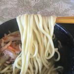 55372656 - 太麺ストレート、いただきま〜す