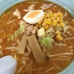 ラーメン処菊忠食堂 - 料理写真:辛子肉味噌ラーメン
