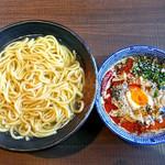 ら麺のりダー - 坦々つけ麺(辛さレベル2号・あつ盛)(2016年8月)