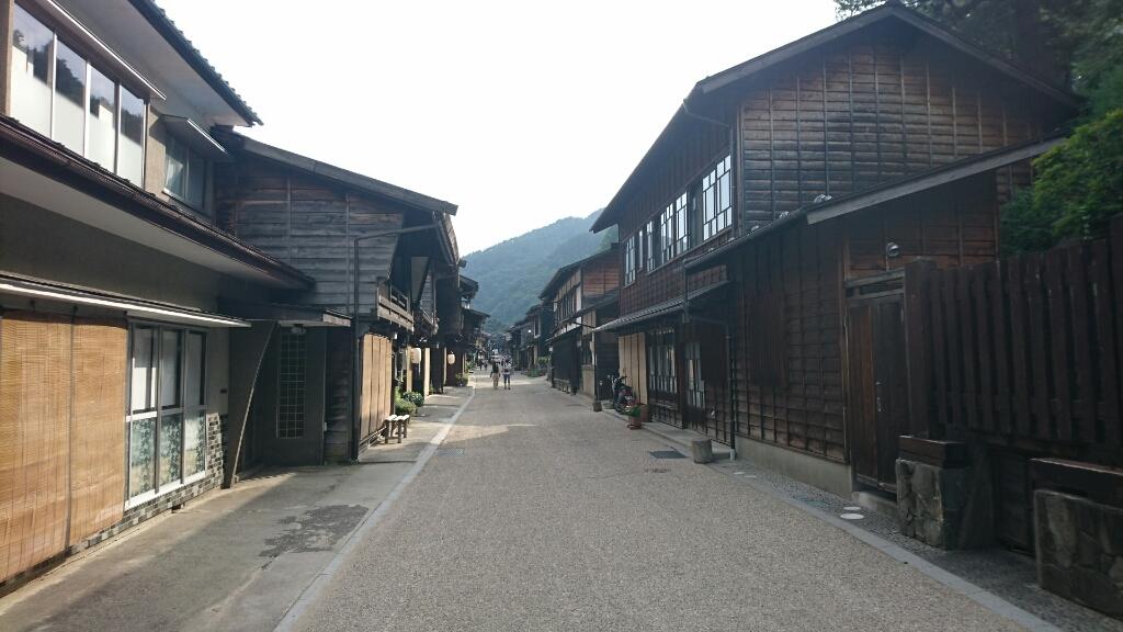 奈良井宿市場