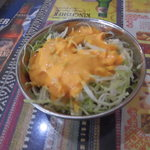 インドネパール料理 ラージャ - Bセット1134円のサラダ