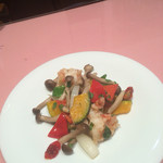 55376143 - エビとお野菜の炒め物