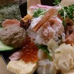 ときすし - スペシャル海鮮丼(大阪パワーライス)