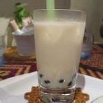 十文字カフェ - タピオカミルクティー