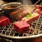 焼肉 ぽんが - タン塩&ヒレ
