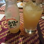 十文字カフェ - りんごジュース