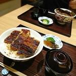 unagiryourisawashou - 特上うなぎ丼(肝吸い・香の物付)