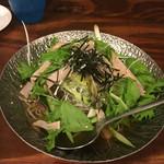 大阪ホルモン - 柚子と青じその冷麺