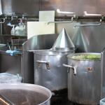 北地蔵 - 原湯スープ、真面目な作り