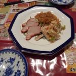 広東飯店 美香園 - 【2015.12】冷菜盛り合わせだったかな?