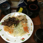 お食事ショップ やまにし - 焼肉、生姜焼き定食850円