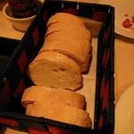 ラ ボッテガ デル オーリオ - 自家製、塩無しトスカーナパン