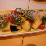 ラ ボッテガ デル オーリオ - 水ナスとトマトのサラダ