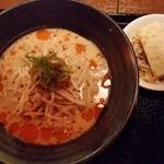 55386186 - 中華ランチセットB(冷た~い極み担々麺)
