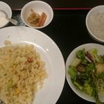 55386996 - 小楠国 蟹肉とレタスの炒飯セット
