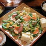 家庭料理の店 ふるさと食堂 - ゴーヤチャンプルー定食