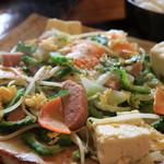家庭料理の店 ふるさと食堂 - ゴーヤチャンプルー