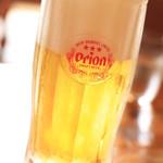 家庭料理の店 ふるさと食堂 - 生ビール