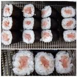 55388243 - ◆「鉄火巻き(498円」・・マグロは少ないですが、味わいとしては普通。