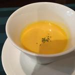サイプレスリゾート久米島 - カボチャのスープ