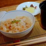 日本料理 ちくま庵 - 涼風懐石 鱧のそぼろご飯