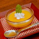 日本料理 ちくま庵 - マンゴープリン